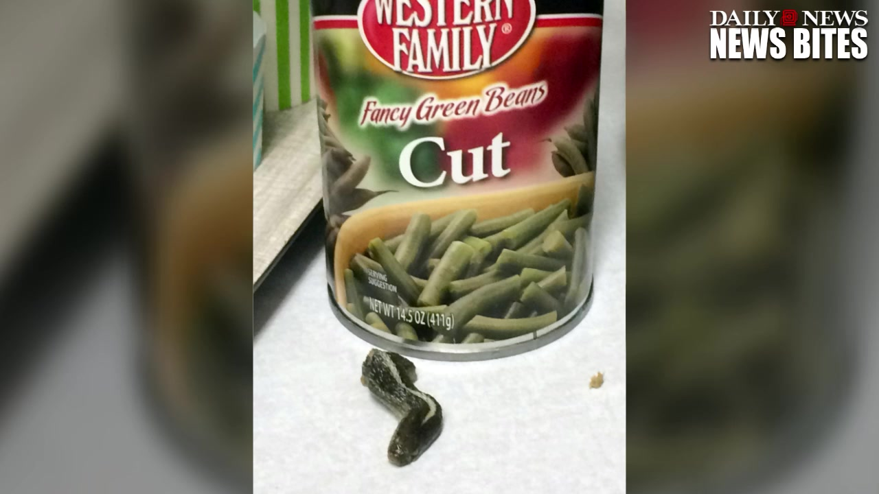 Utah Woman Finds Snake Head In A Can Of Green Beans