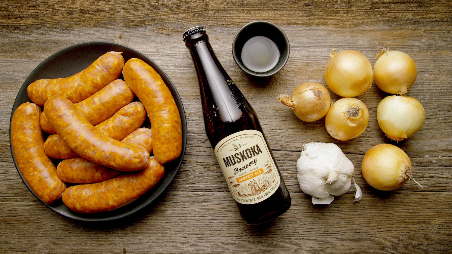 How to Make Beer Braised Sausages