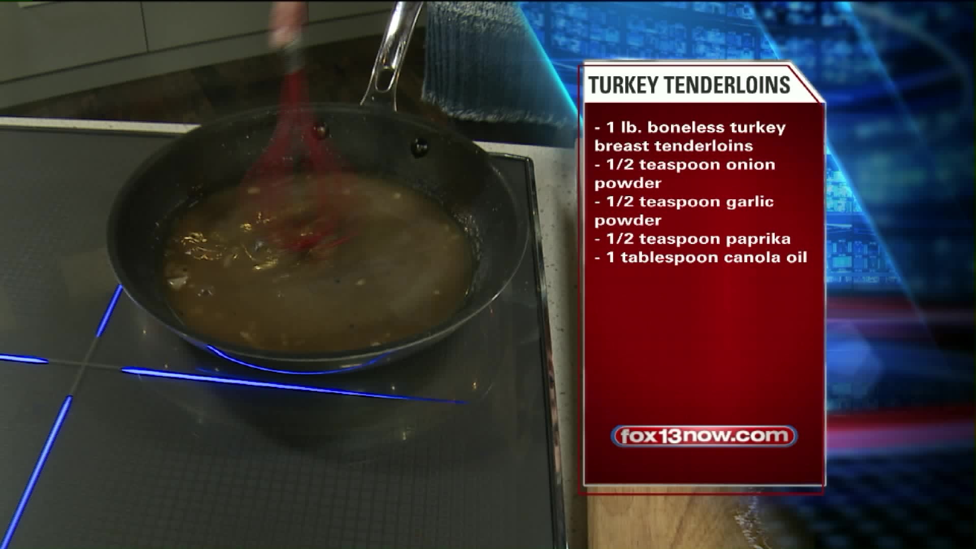 How To Make Lemon Parsley Turkey Tenderloins