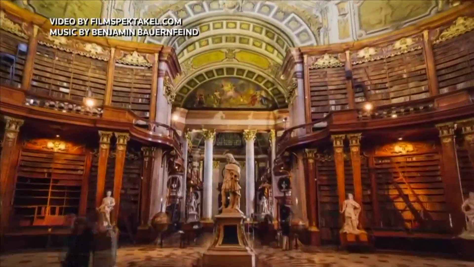 A Whistle Stop Tour of the City of Vienna Through a Time-Lapse