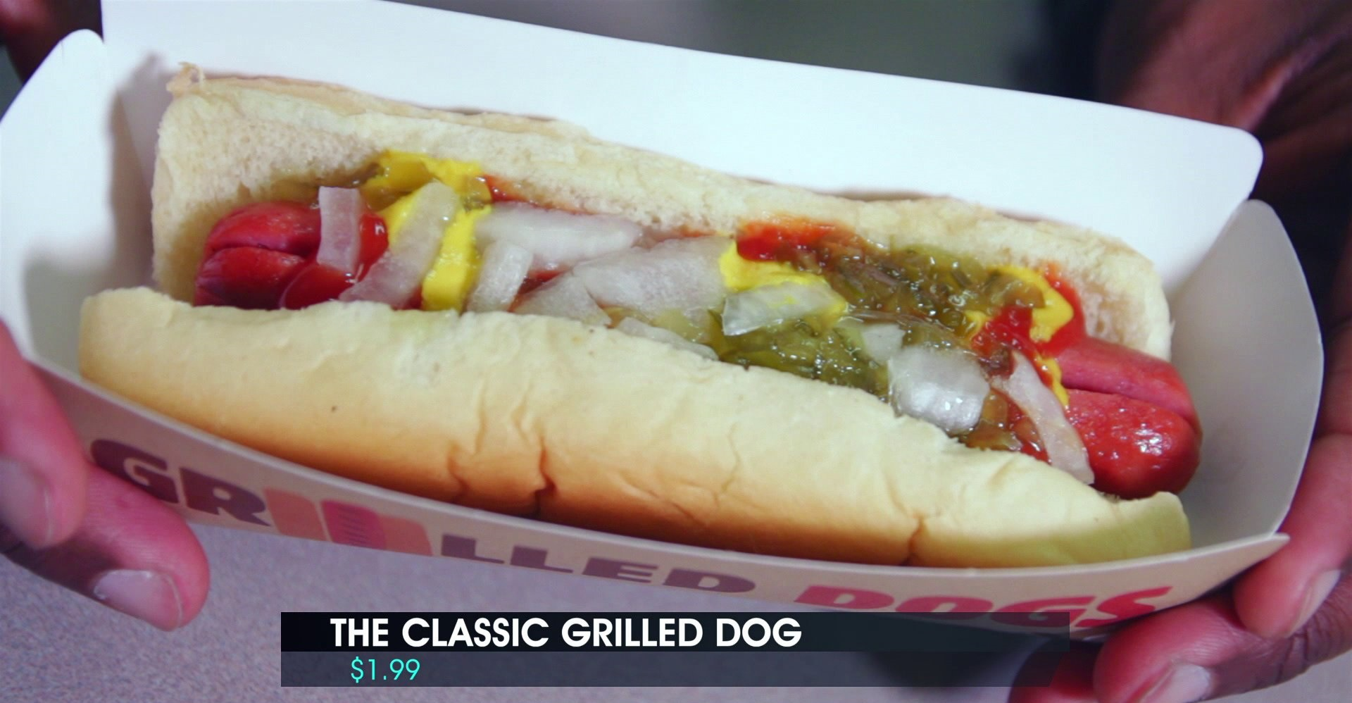 We Try Burger King's Grilled Hot Dogs