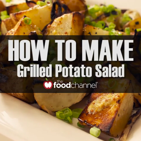 How to Make the Best Grilled Potato Salad