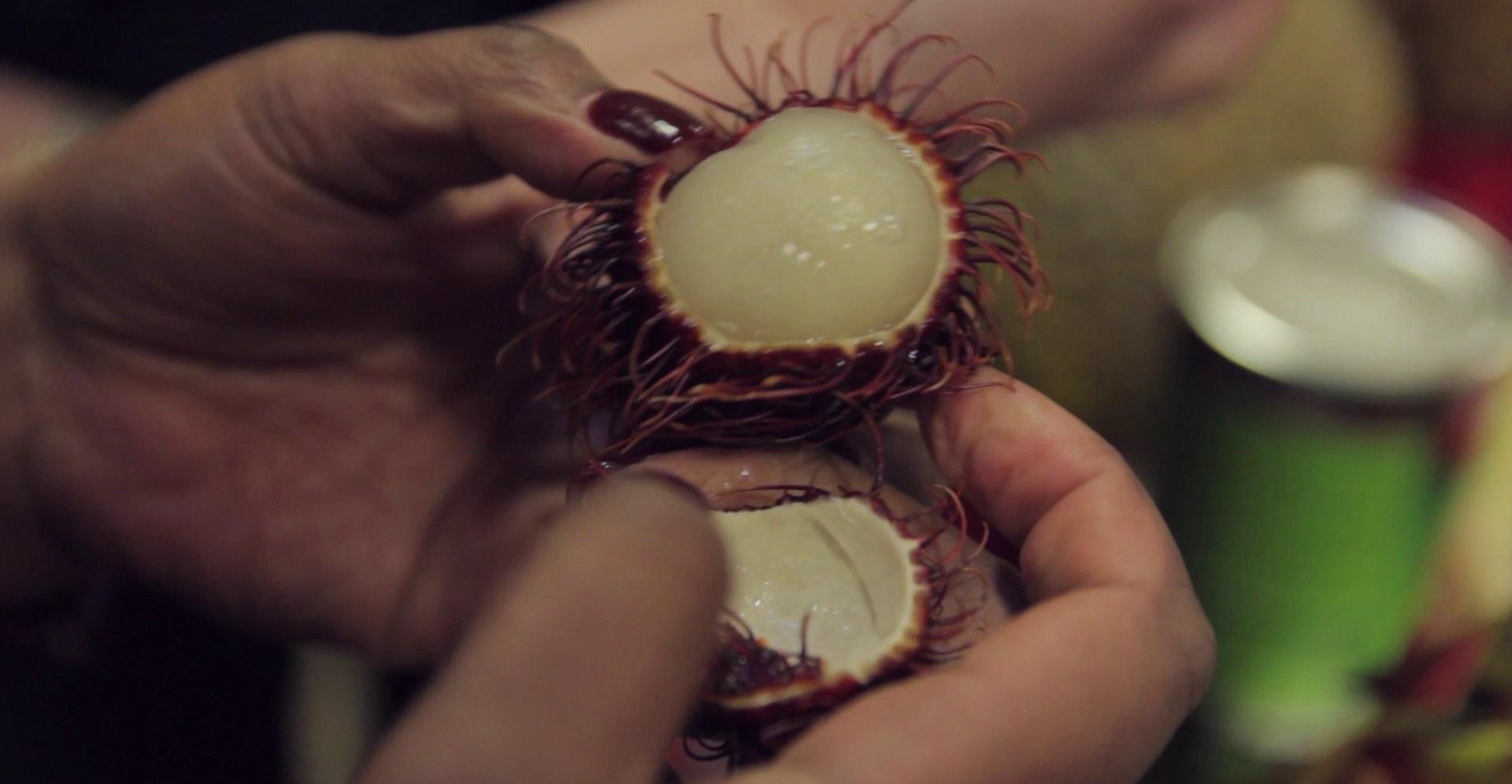 Exotic Food Challenge: Rambutan