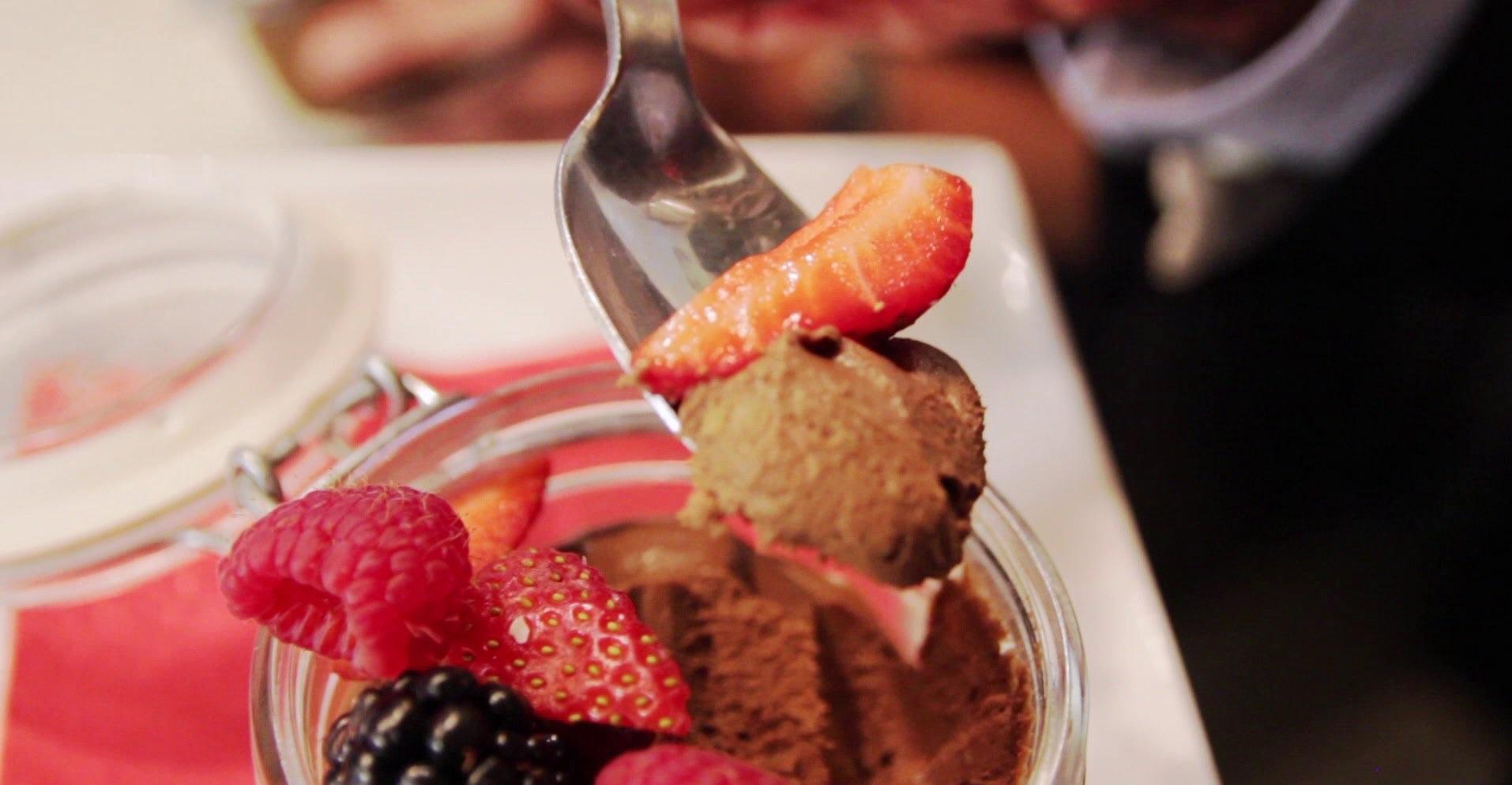 Chef Uno Makes Chocolate Avocado Mousse