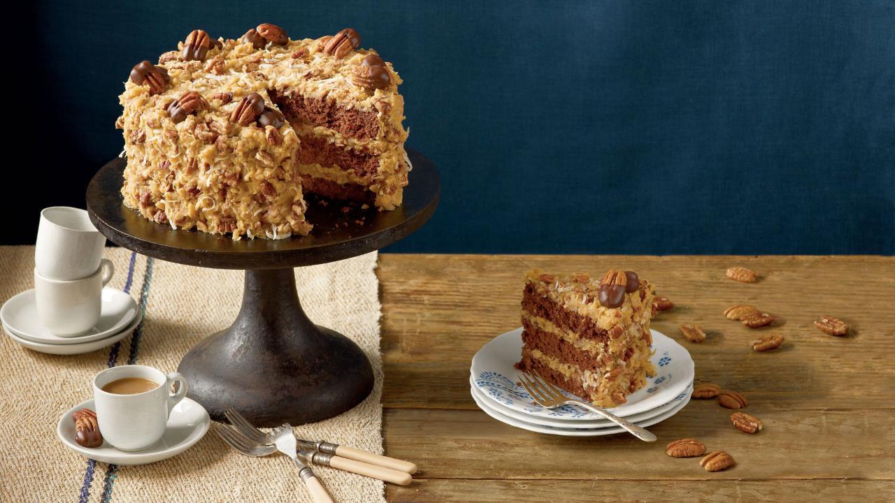 Mama's German Chocolate Cake Recipe
