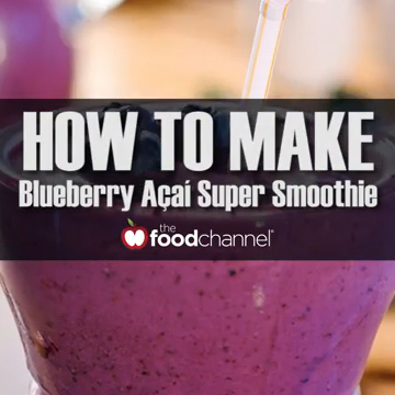 How to Make the Best Acai Blueberry Super Smoothies!