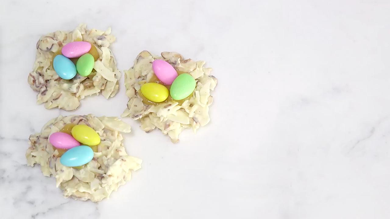 How to Make Chocolate Easter Nests