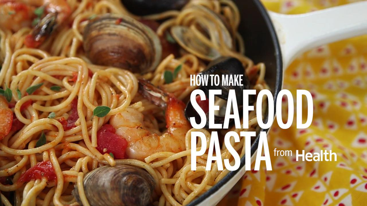 How to Make Seafood Pasta