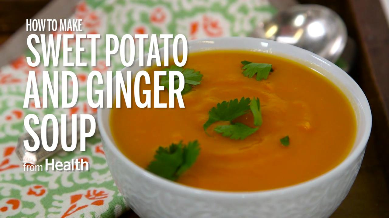 How to Make Sweet Potato and Ginger Soup