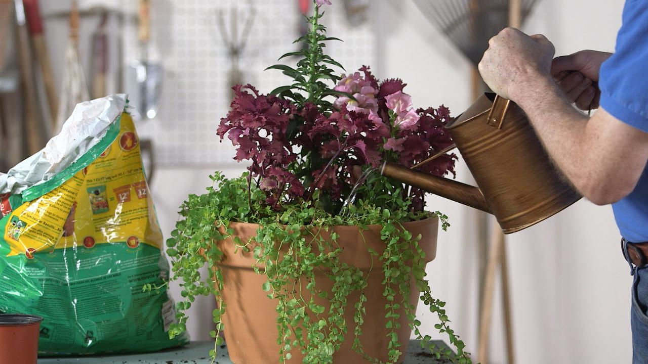 How To Make A Flower Container
