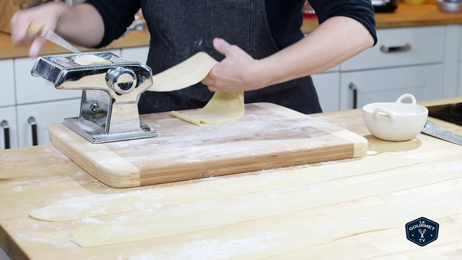 how to make fresh pasta dough video