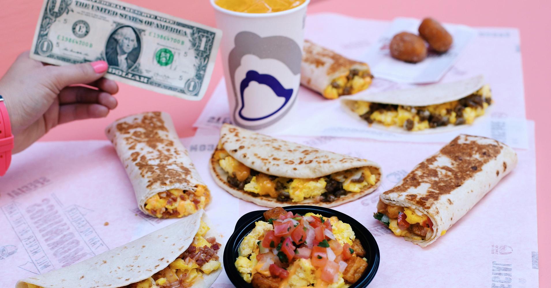 We Try Taco Bell's $1 Breakfast Menu