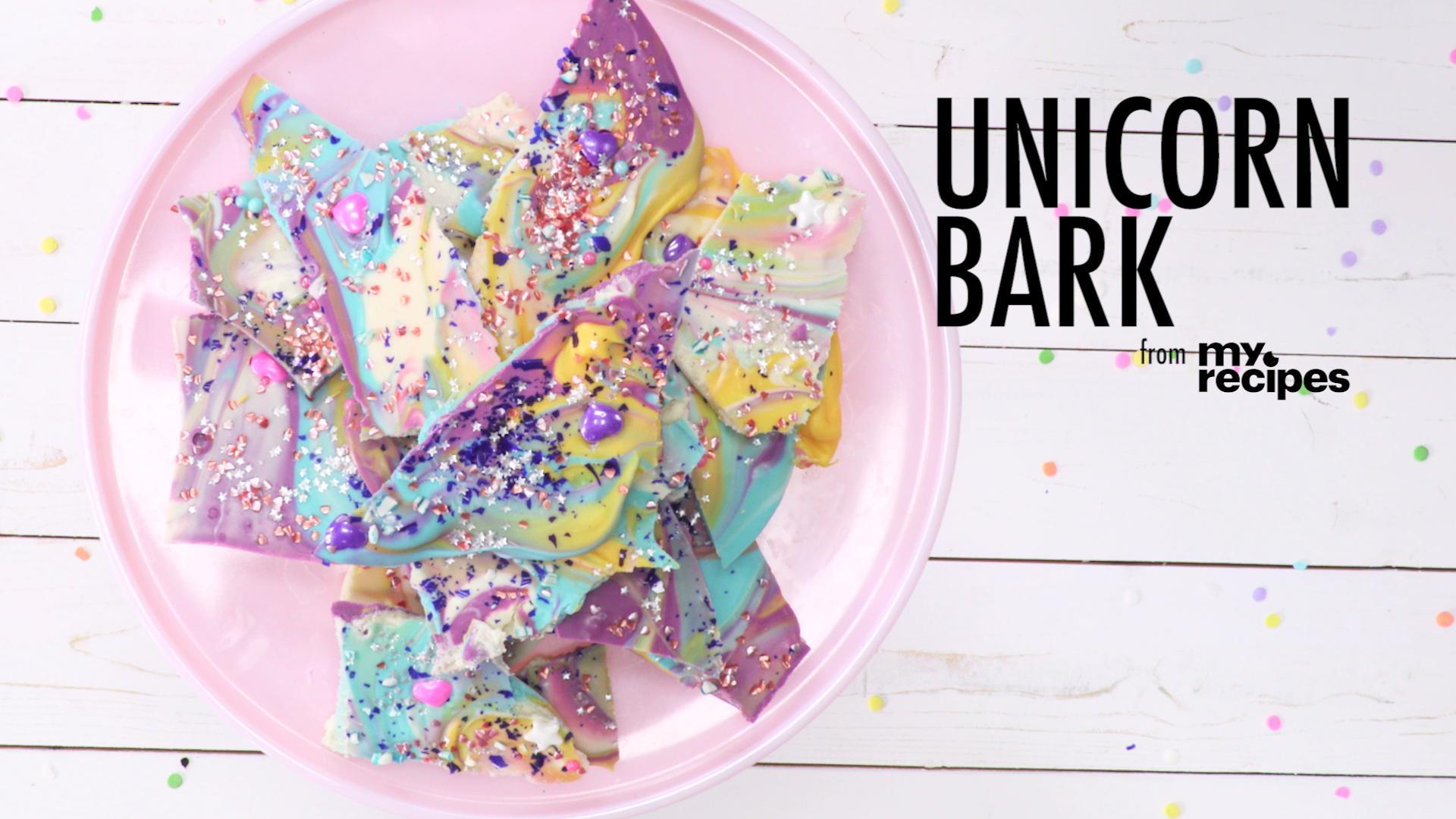 How to Make Unicorn Bark