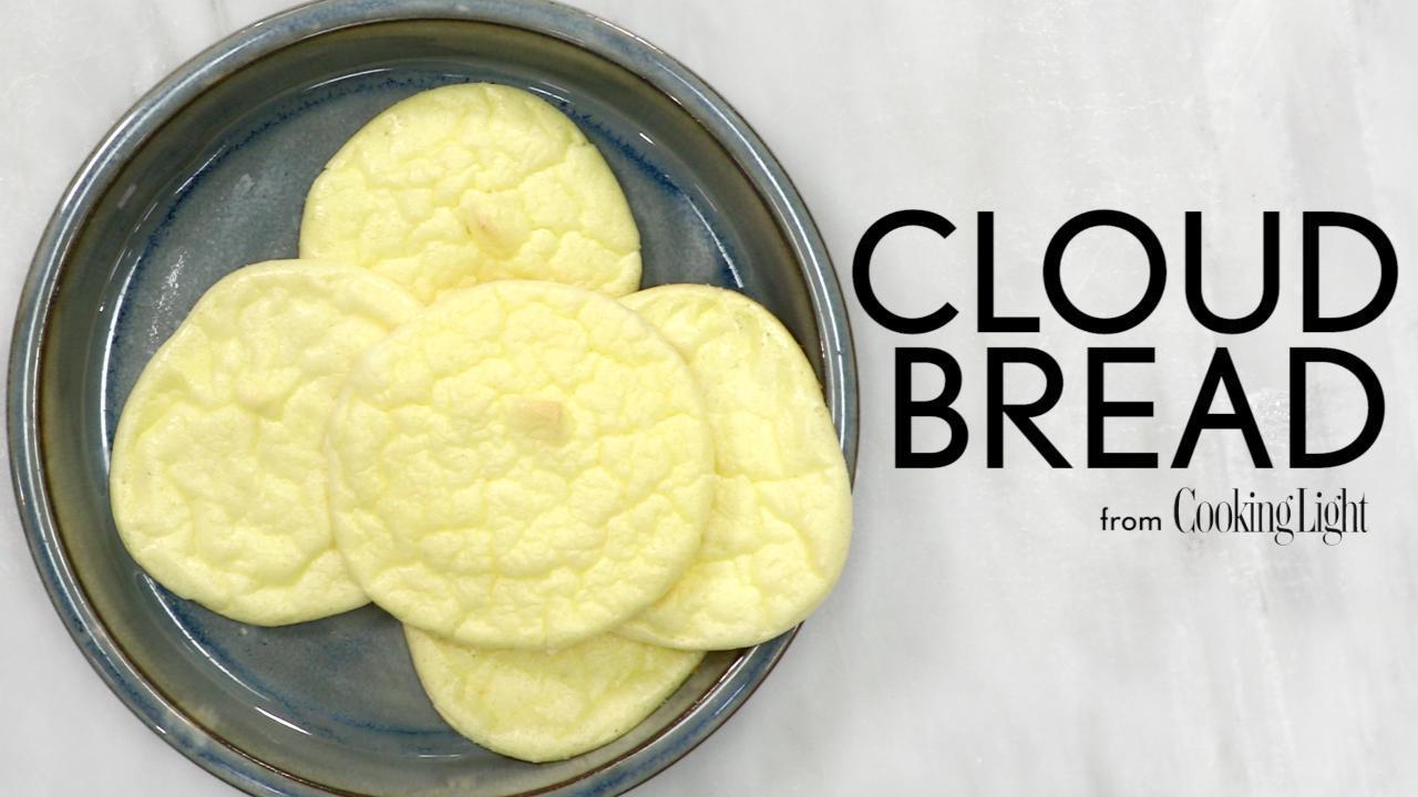 3-Ingredient Cloud Bread