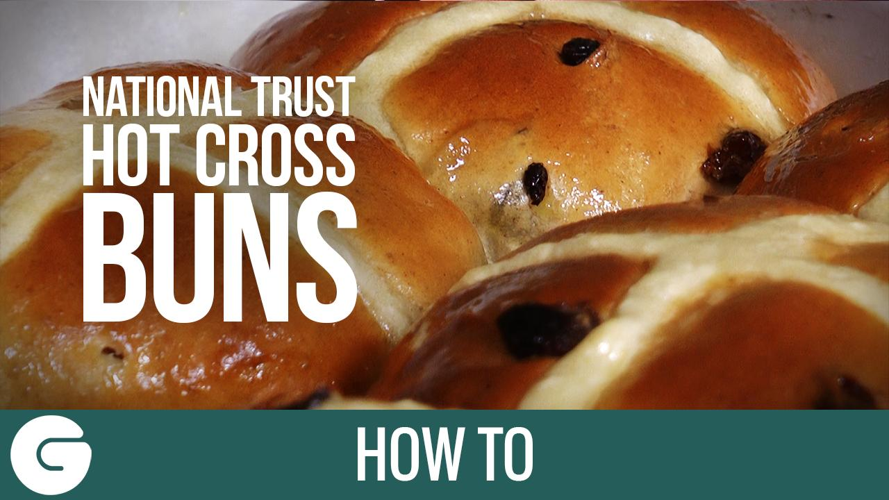 How to Make National Trust Hot Cross Buns
