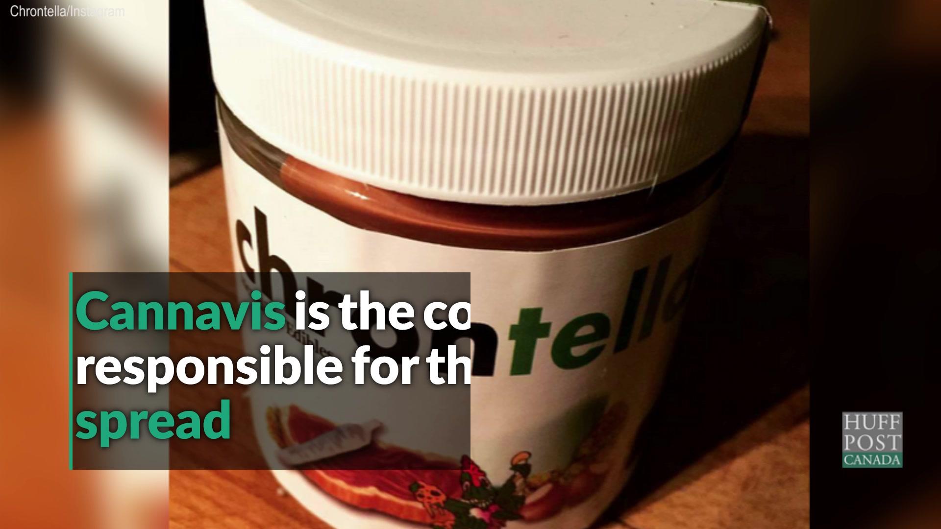 Chrontella: Like Nutella, But For Stoners