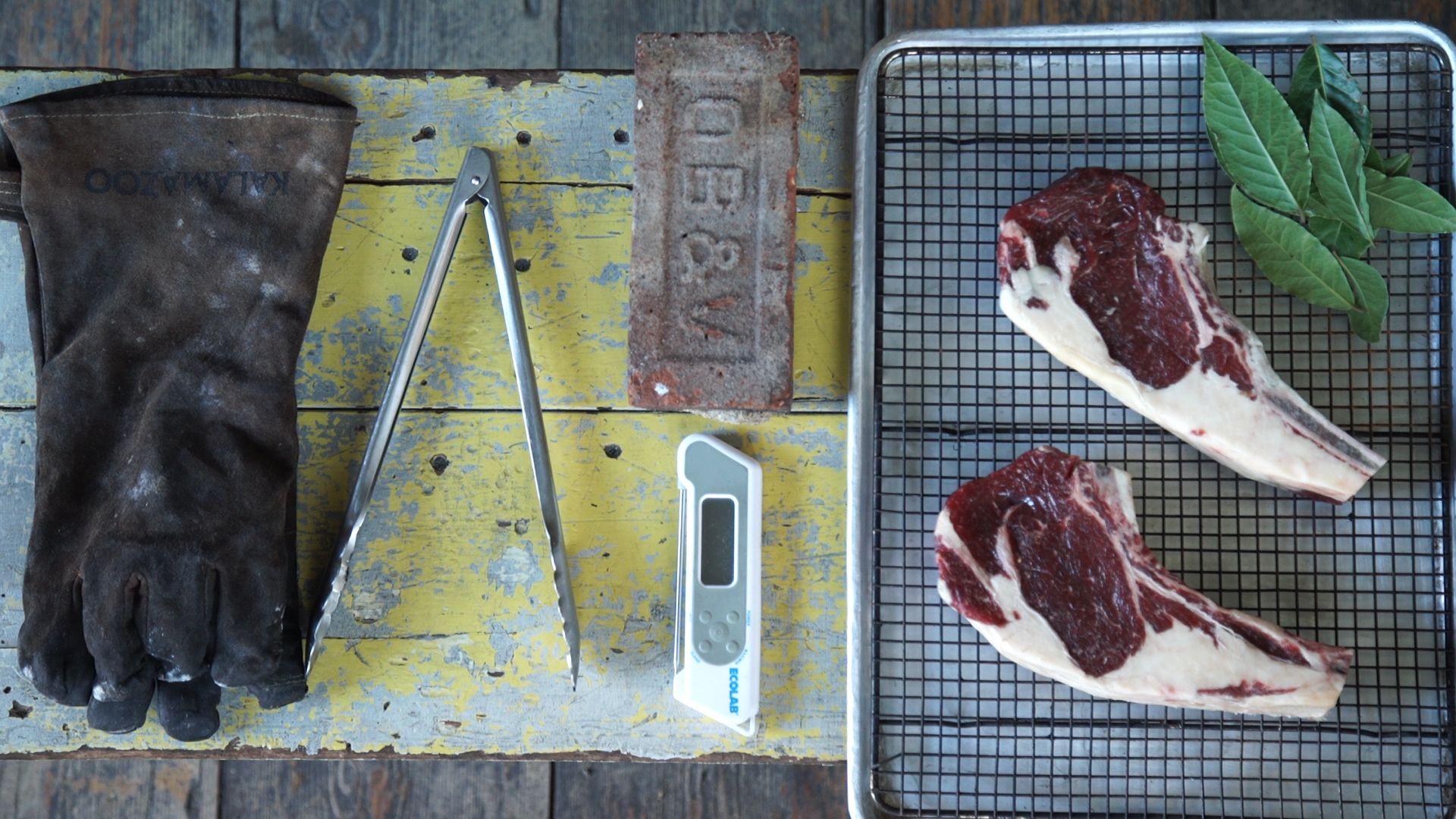 The Most Badass Way to Cook Steak