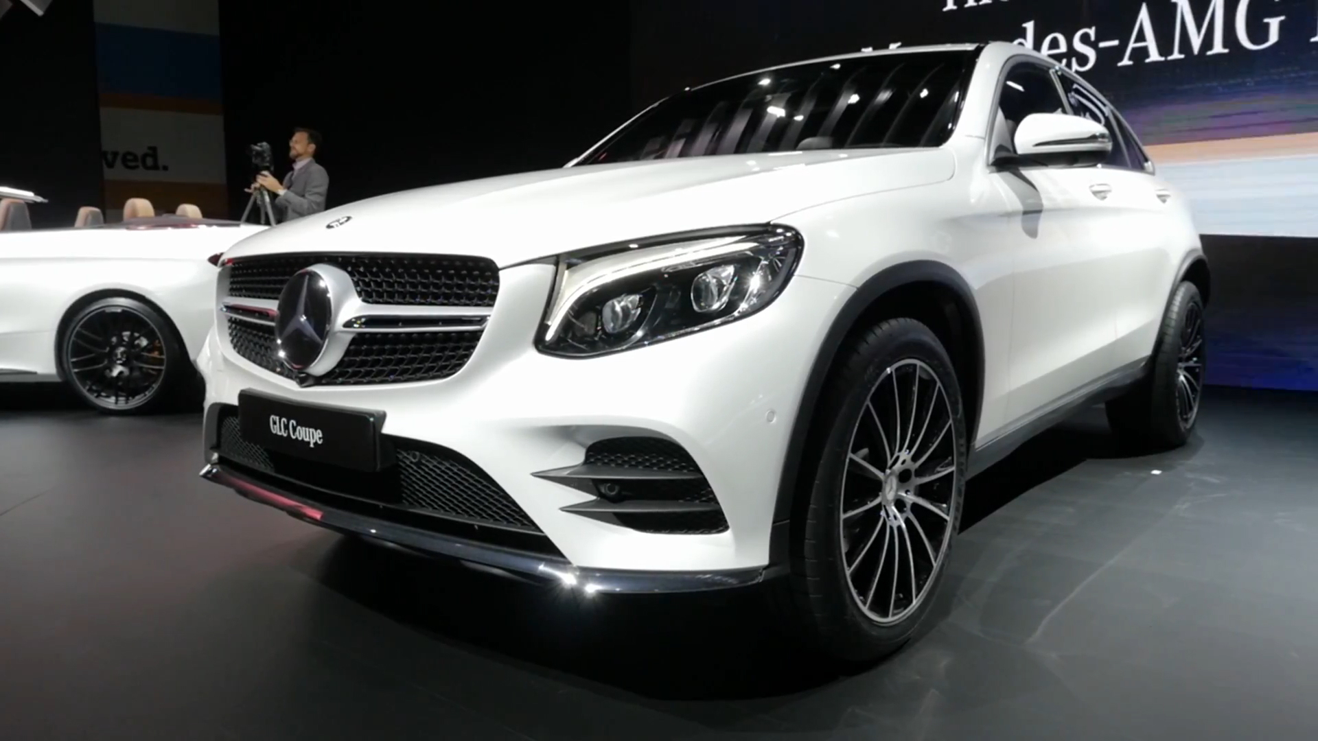 2017 mercedes benz glc class coupe is a stylish take on a familiar package autoblog