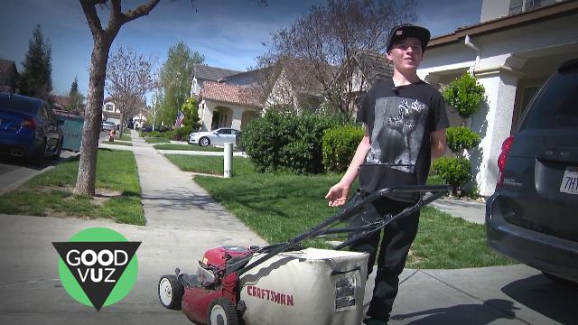 Lawns for Love: Teen Mows for First Date Money
