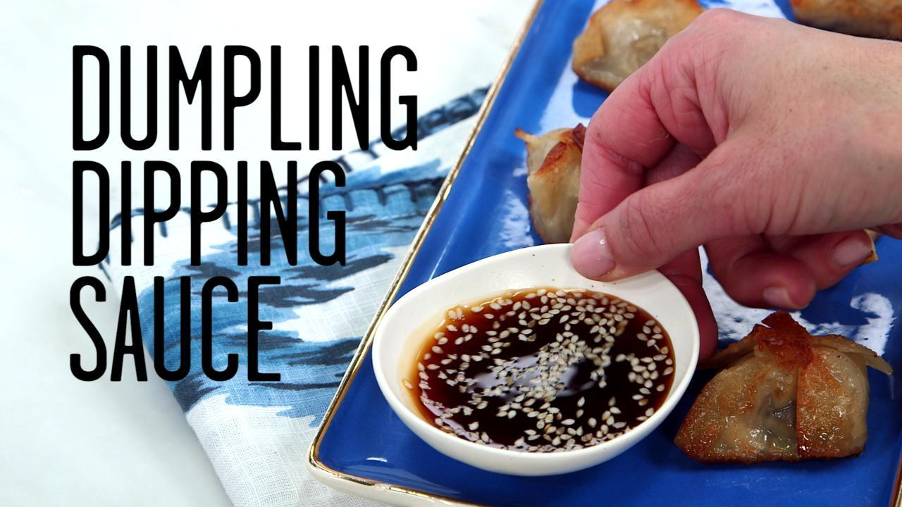 How to Make Dumpling Dipping Sauce