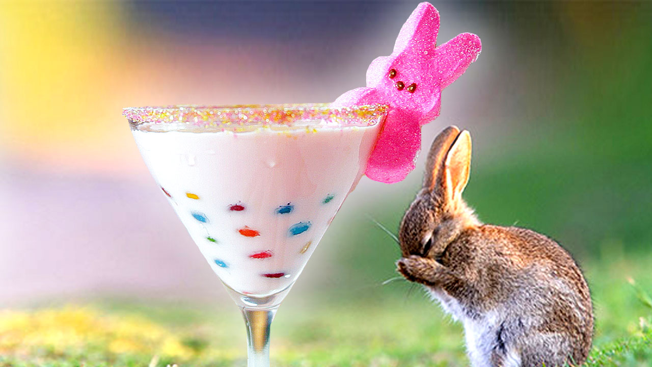 Resurrect Your Tastebuds With This Sugar-Filled Easter Jelly Bean Cocktail