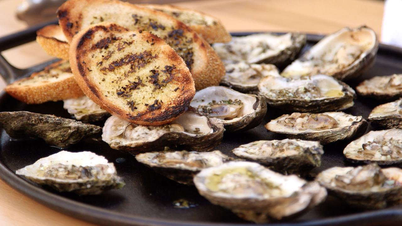 The King's Grilled Oysters