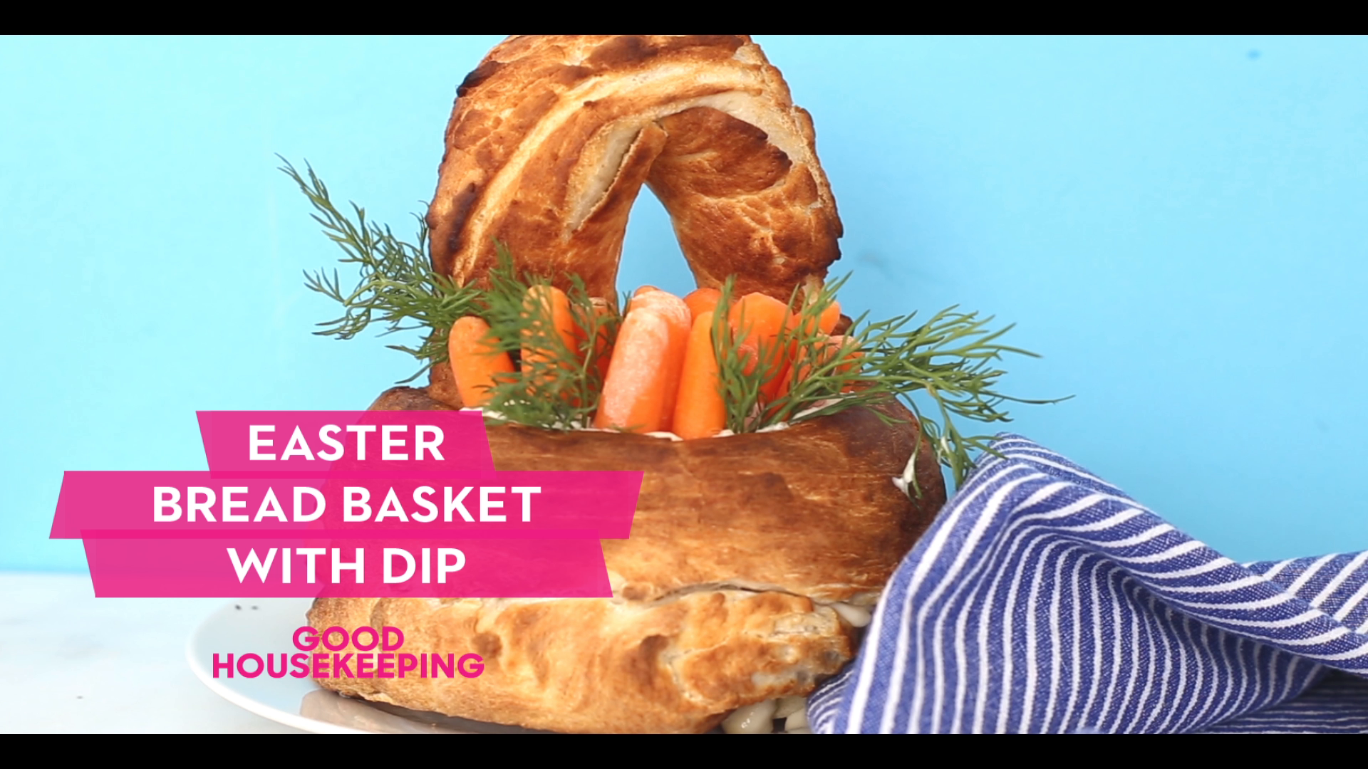How to Make an Easter Bread Basket