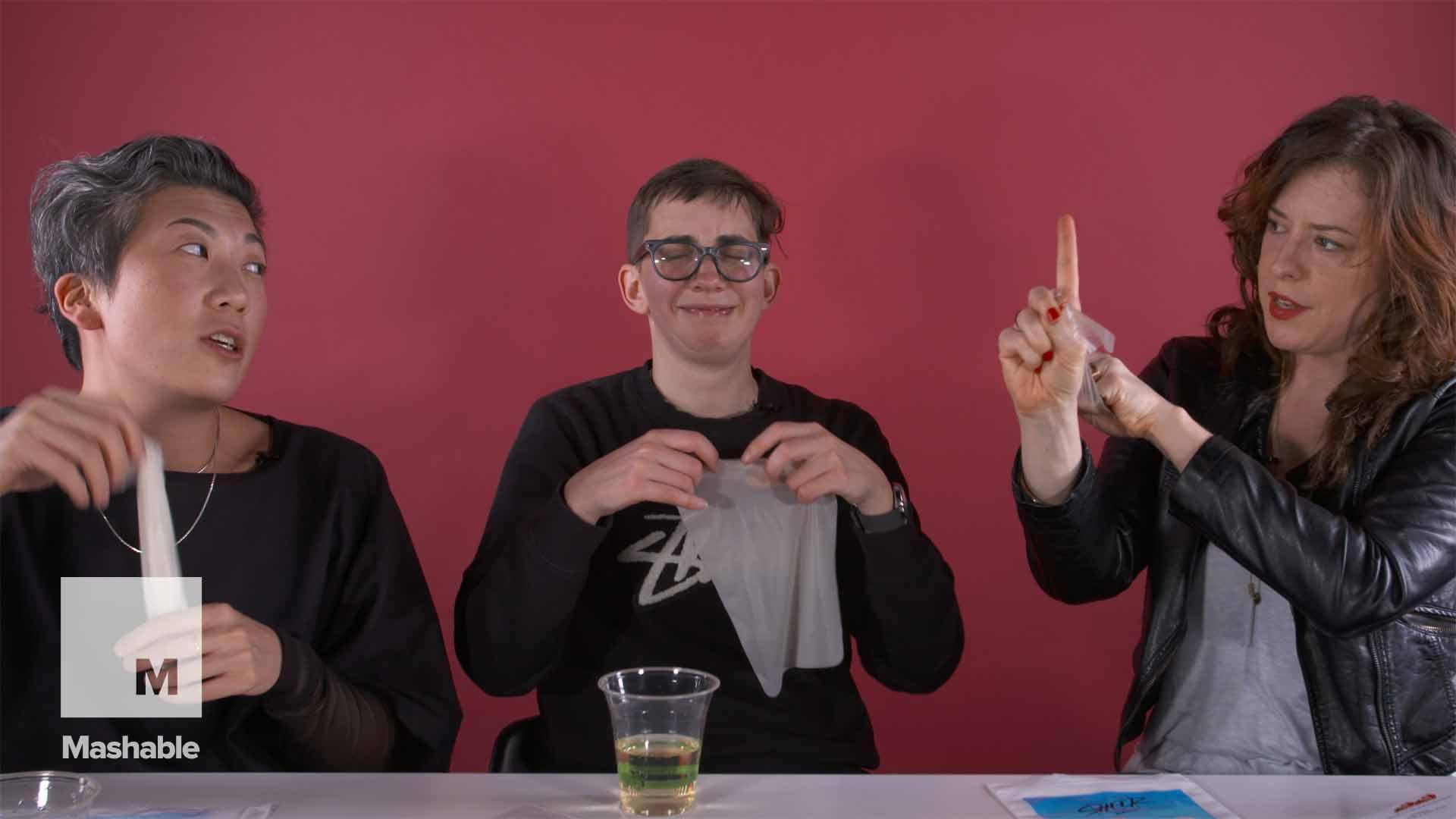 What are Dental Dams? 3 Lesbians Hilariously Try to Explain.