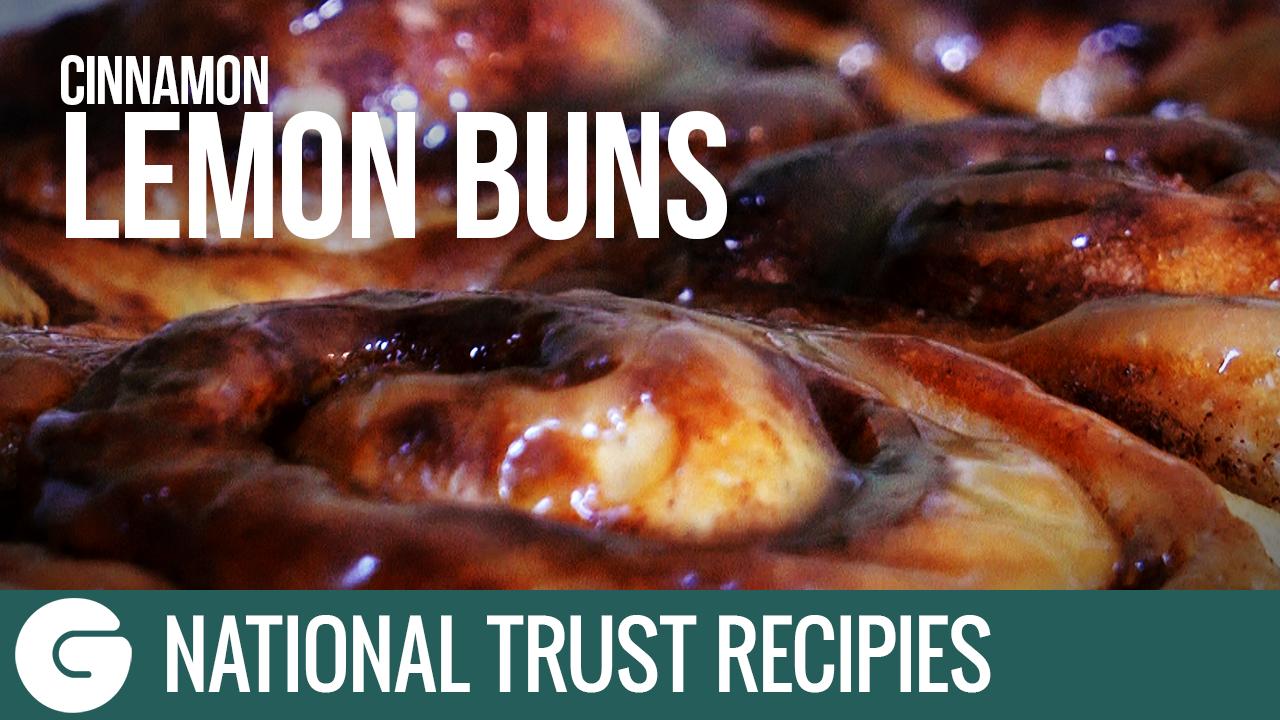 How to Make National Trust Cinnamon Lemon Buns
