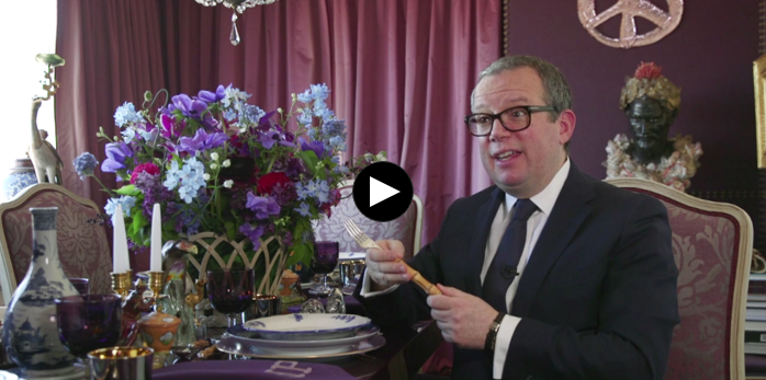 At home with Alex Papachristidis: How to set a fantastical table