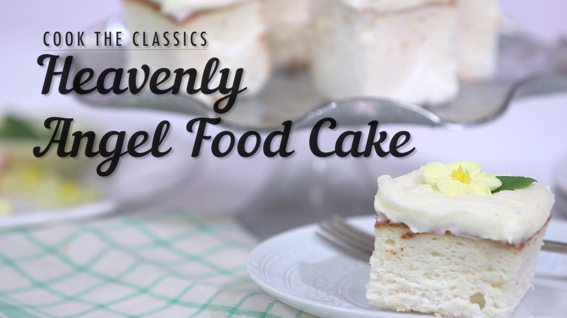 How to Make Classic Angel Food Cake