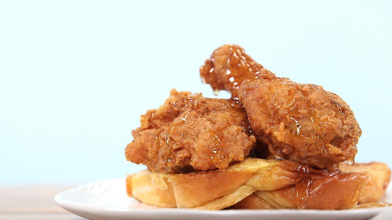 How to Make a Fried Chicken French Toast