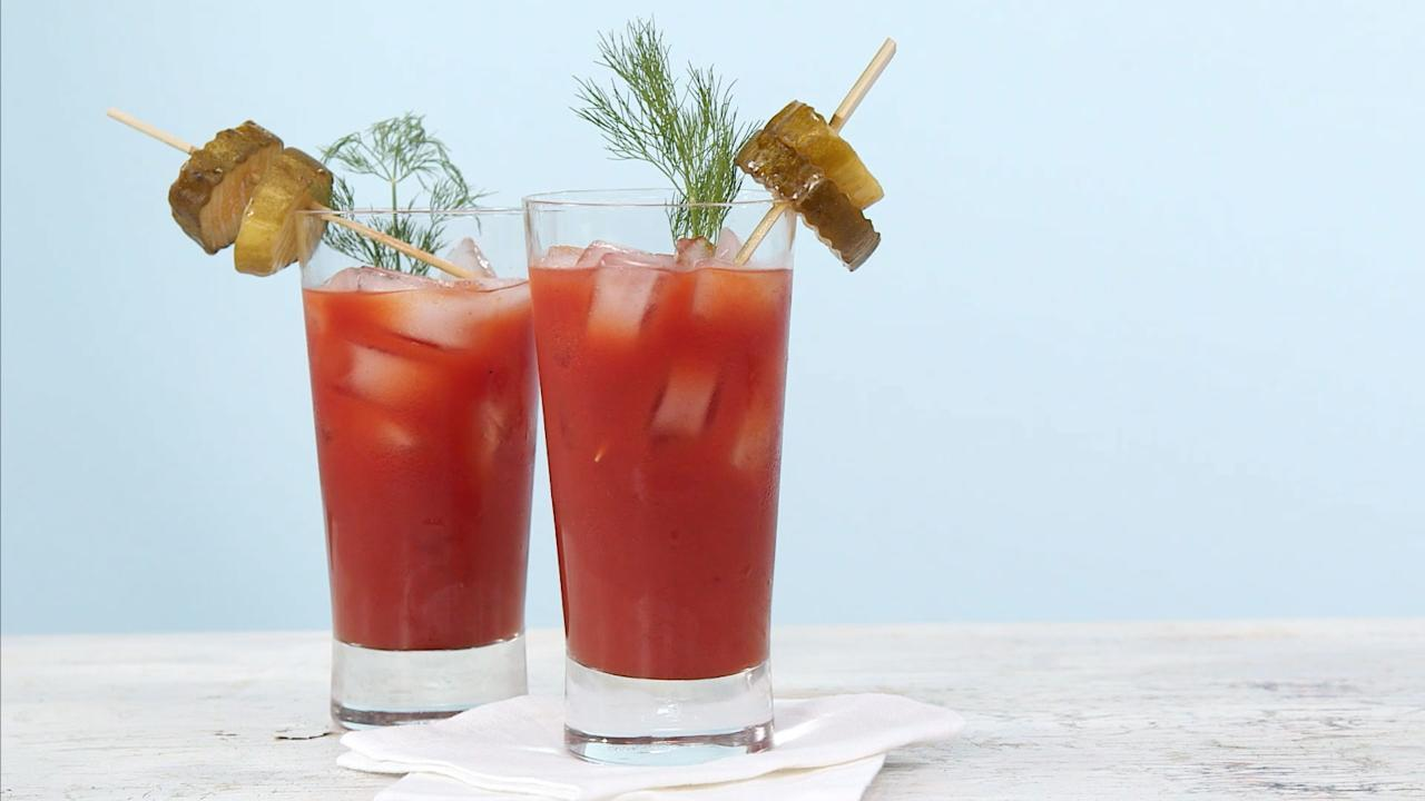 Dill Pickle Bloody Mary Recipe
