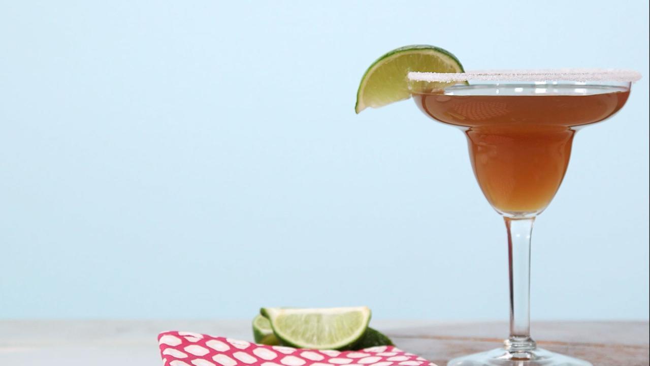 Sweet Tea Key Lime Margarita Recipe