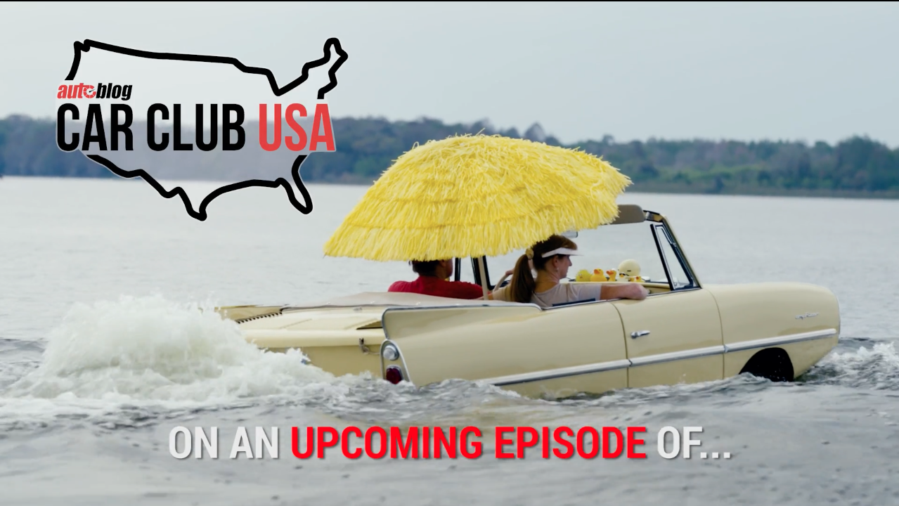 Amphicar Swim In Mount Dora Fl Car Club Usa