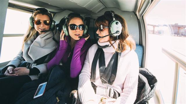 Helicopters Help Agents Soar to New Heights