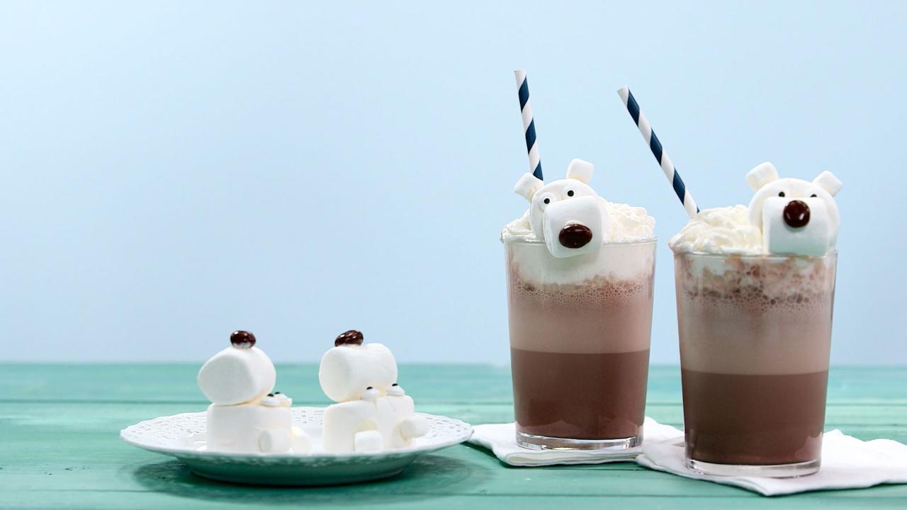 Polar Bear Frozen Hot Chocolate Recipe
