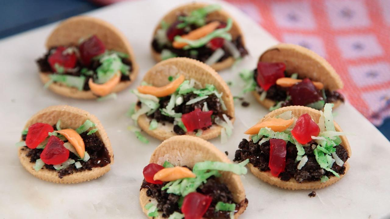 Mini Taco Cookie Recipe