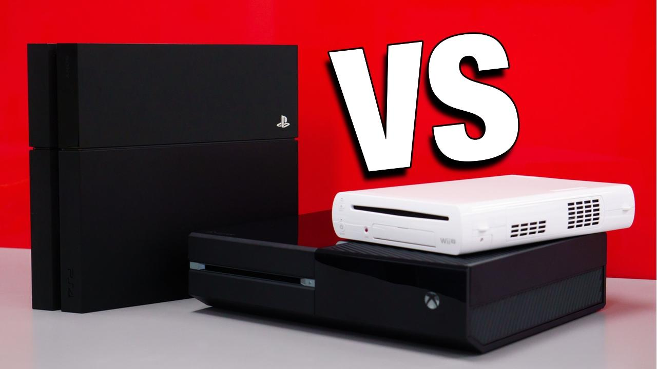 Console Wars: Xbox One vs PS4 vs Wii U (Round 6)