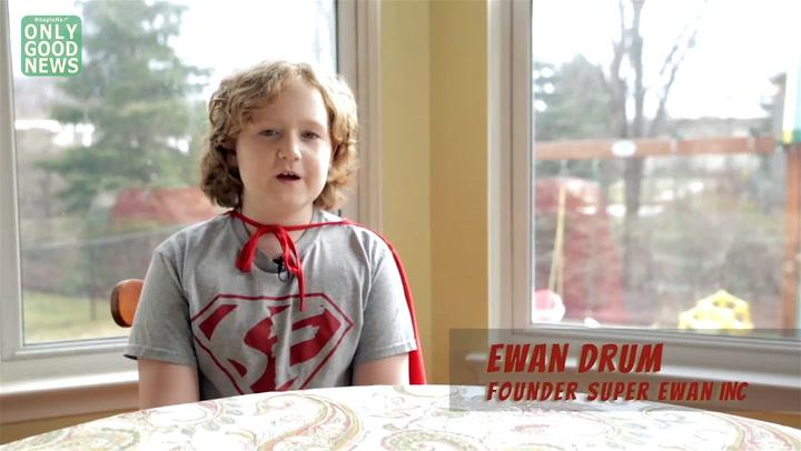 Who Helps the Homeless? It's A 9-Year-Old Superhero!