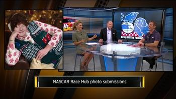 'NASCAR Race Hub' talent reveal pet photo submissions