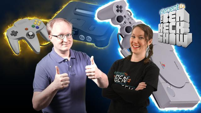 The Ben Heck Show - Episode 229 - Ben Heck's Console Wars: PlayStation 1 vs Nintendo 64