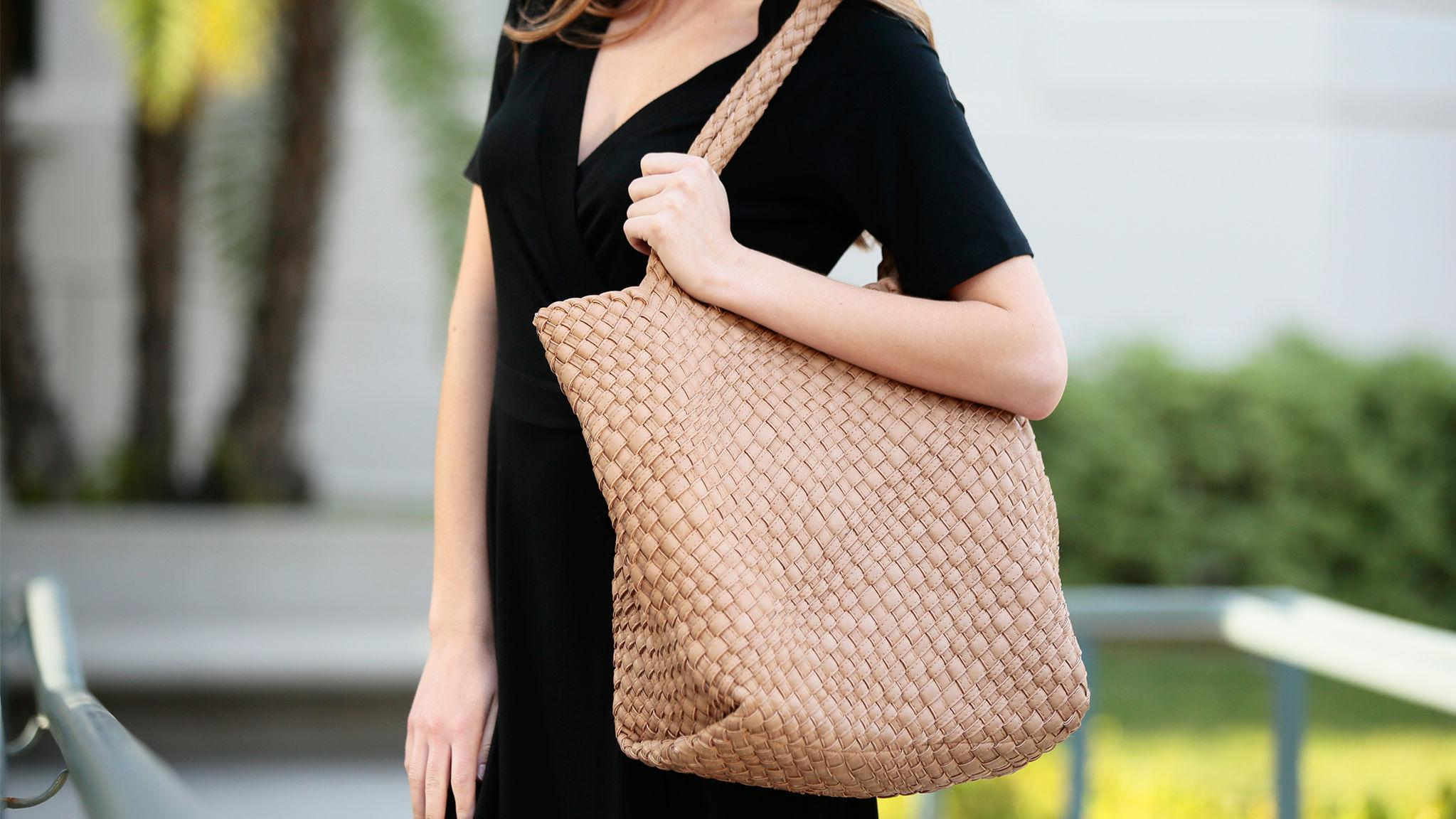 Timeless Style: An Affordable Woven Tote