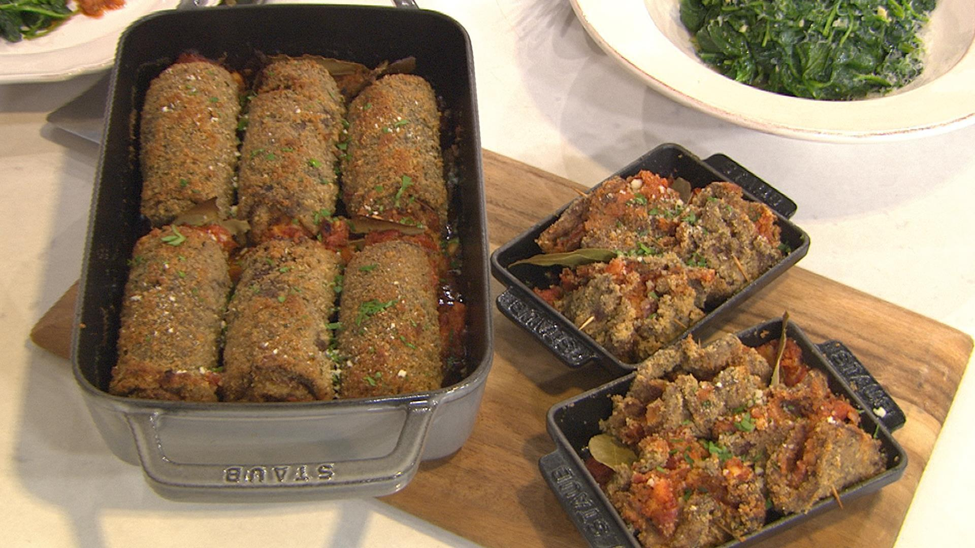 Italian beef roll-ups: Nicole Gaffney shows you how
