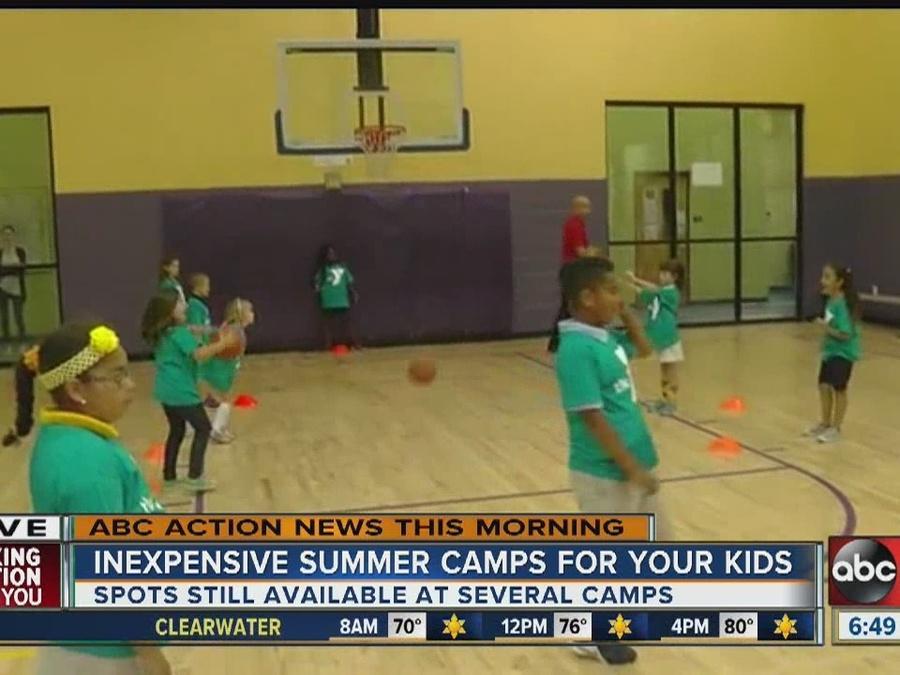 2016 summer camp sign-ups still available