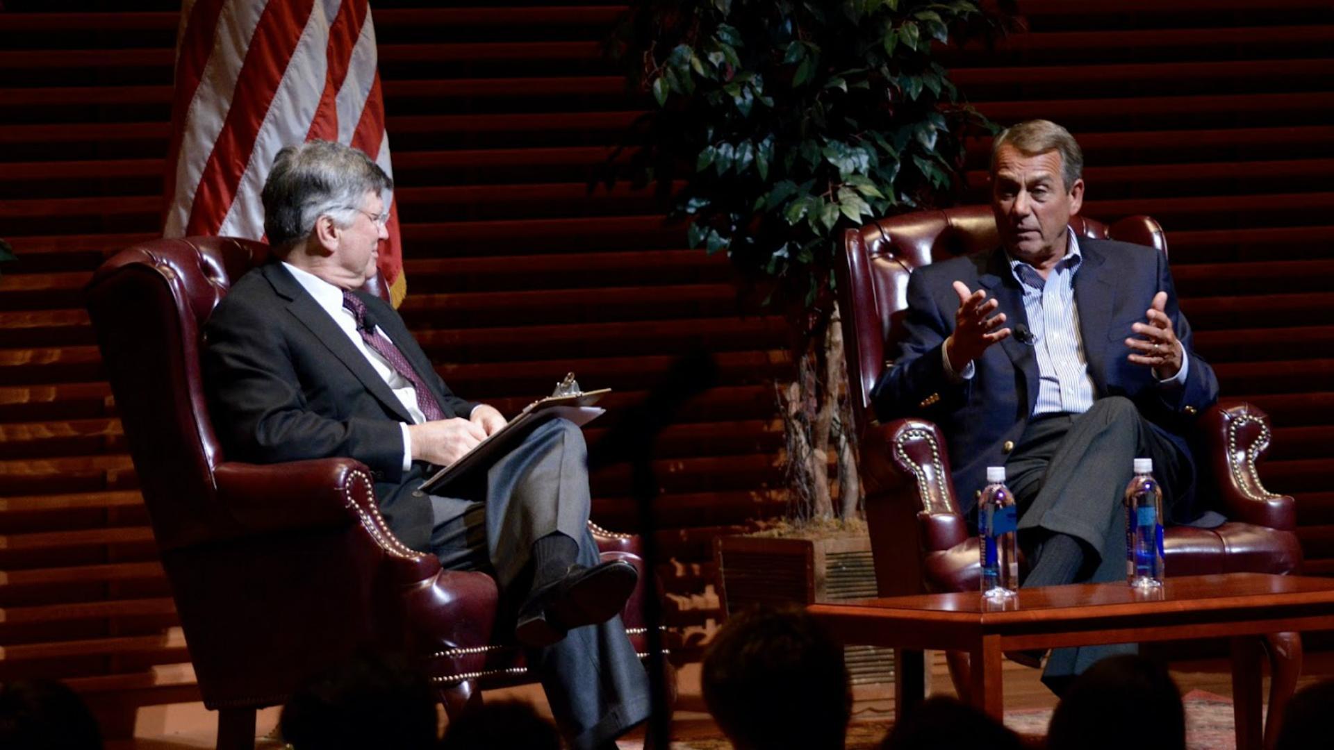 Listen: Boehner calls Cruz 'Lucifer in the flesh'