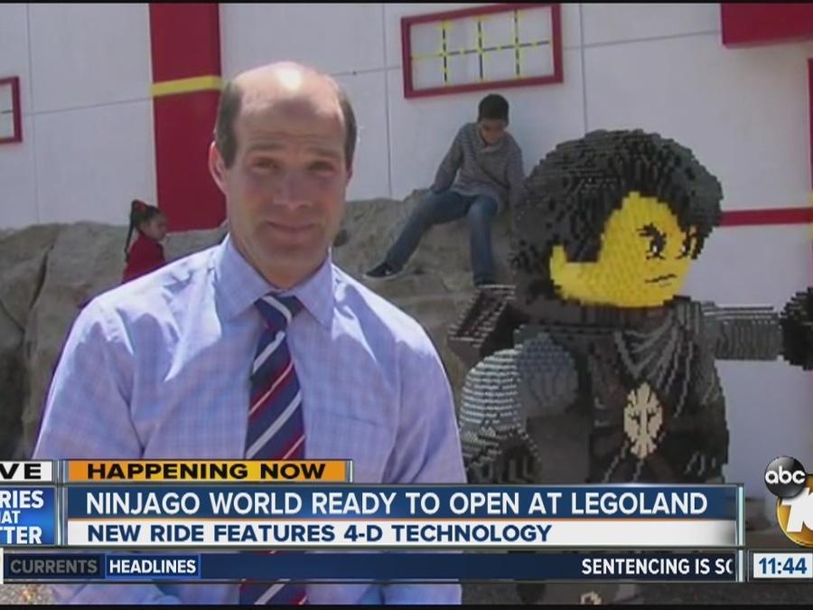 Ninjago World ready to open at Legoland