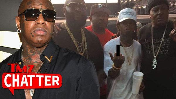 Lil Wayne Has NO 'RESPEK'... Chillin' with Birdman's Foes!