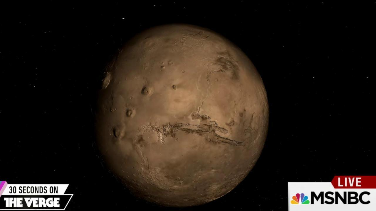 One giant step for sending man to Mars?