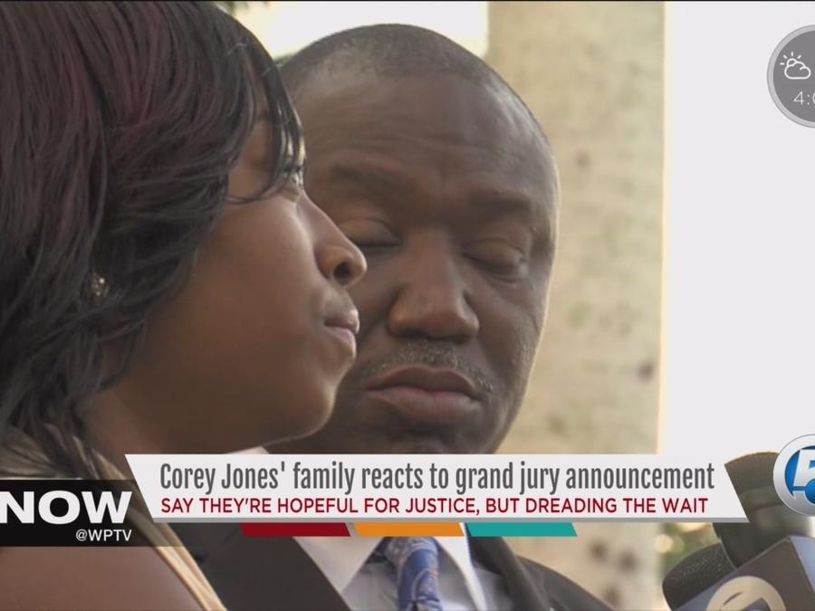 Corey Jones' family reacts to grand jury announcement